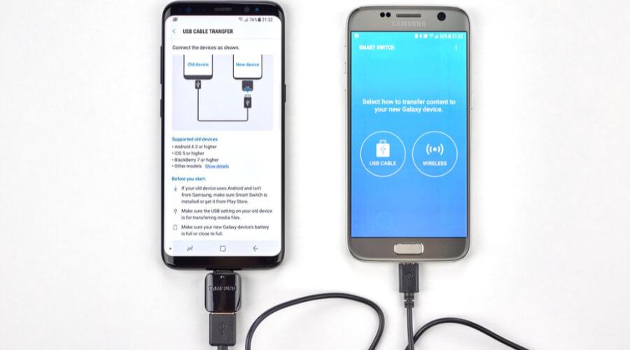 Samsung Smart Switch App